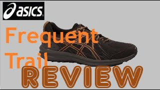 ASICS Frequent Trail running shoe | product review - YouTube