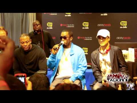 Diddy, Dr.Dre & Jimmy Iovine Speak On Diddy Beats, Diddy Speaks On Dr.Dre's Influence
