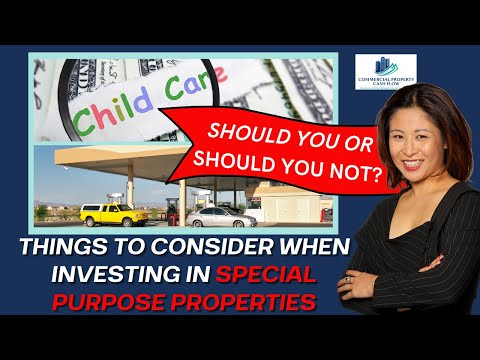 SPECIAL PURPOSE COMMERCIAL PROPERTY: SHOULD YOU? SHOULD YOU NOT? Things to consider when investing