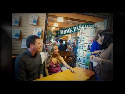 Sheryl Crow and Chef Chuck White visit Book Passage in San Francisco