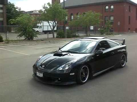 Celica Trd >> Celica TRD exhaust - YouTube