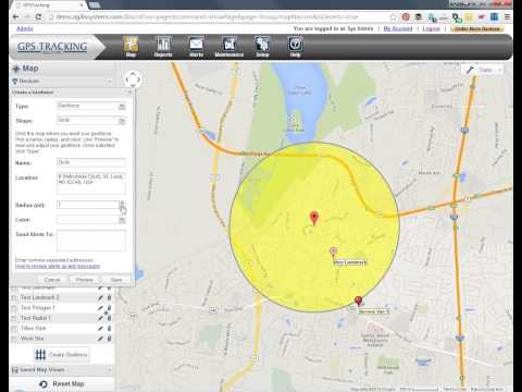 Create and Use Geofences Using MOTOsafety GPS Tracking and Teen Driving Coach