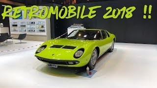 On fait un petit tour à RETROMOBILE 2018