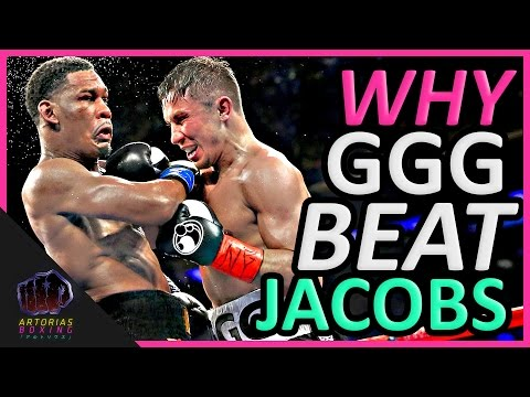 Why Gennady GGG Golovkin Beat Daniel Jacobs (Landed Punches Count)