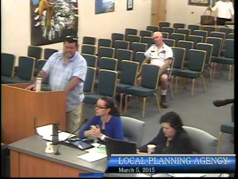 City of Bonita Springs, Local Planning Agency Meeting, March 5th, 2015 Part 1