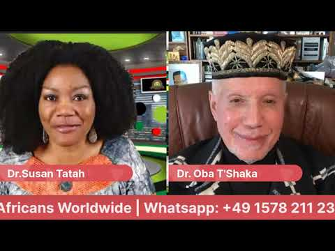 Dr. OBA T'Shaka: On Leadership that works for AFRICA | 21 Jan 2021