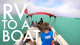 SHOULD WE LIVE ON A BOAT?  : RV Full-time w/9 kids
