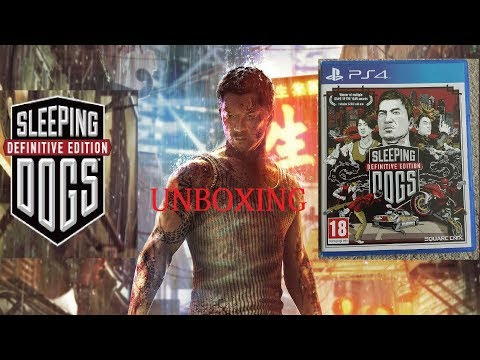 Unboxing Sleeping Dogs  Definitive Edition  in chandigarh+gameplay 4k