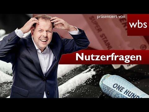Im Krankenhaus wegen Kokain - Meldepflicht bei Polizei? | Nutzerfragen RA Christian Solmecke