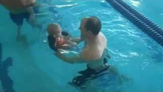 Baby Henry Healey's 1st Swim - 3