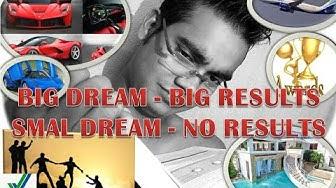 बिग dream बिग रिजलट small dream no रिजलट