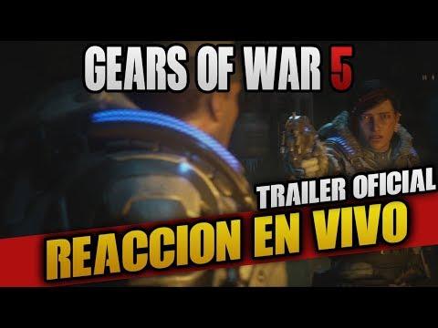 GEARS OF WAR 5    TRAILER OFICIAL GAMEPLAY   VIDEO REACCION   E3 2018