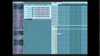 Fl Studio- Love the Way You Lie - Eminem  Tutorial Part 1 Piano tutorial