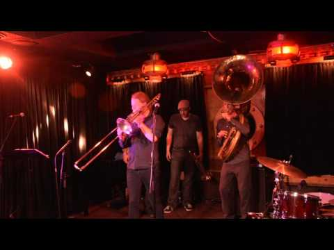 "Heavyweights Brass Band ""Hypnosis"" Kensington Jazz Festival- Richard Sugarman video"