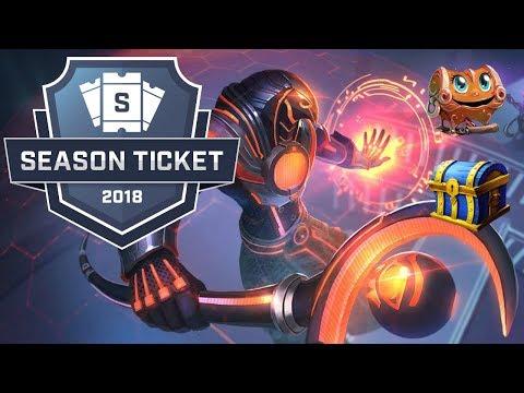 SMITE: Season Ticket Summer Split  All Obtainable Rewards!
