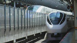 JR東京駅に急病のお客様を救護していた影響で遅れていた、12時43分発予定の常磐線特急ひたち10号品川行きE657系10MK1水カツが約8分遅れで到着!終点のJR品川駅へと約8分遅れで発車!