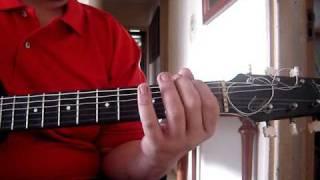 Aula de violão - Exercicio solo - cromatismo no violão