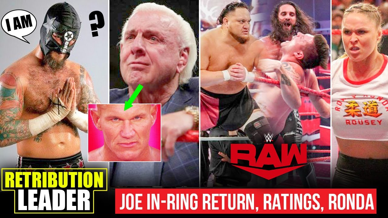 CM Punk TEASED Retribution Leader😯 Flair Reaction ORTON, Joe In-Ring, Fake Underground, Ronda Rousey