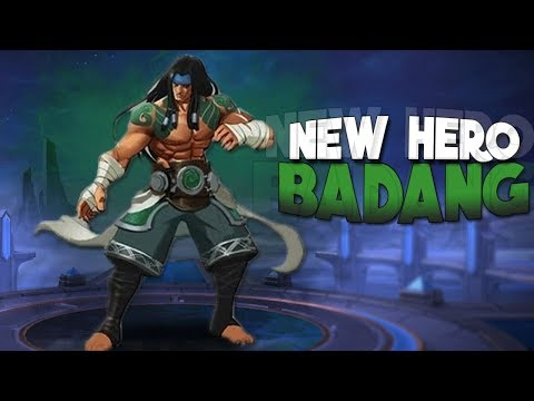 HERE WE HAVE BADANG! | Mobile Legends New Hero Malaysia