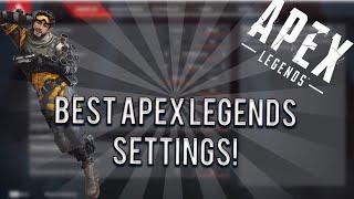 *NEW* SEASON 1 BEST APEX LEGENDS SETTINGS/SENSITIVITY (XBOX ONE & PS4)