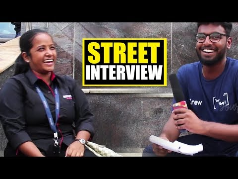 Mansion MaMa- Street Interview II YoursFilmy II Funny Questions