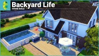 The Sims 4 House Building - Backyard Life