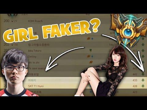 THE FEMALE FAKER   FIRST KOREAN GIRL TO REACH CHALLENGER!