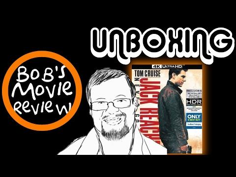 Jack Reacher: Never Go Back 4K Steelbook Unboxing  Best Buy