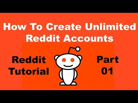 Reddit Tutorial Bangla: Create Unlimited Account On Reddit (2018)