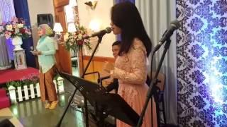 Lagu pop barat, organ tunggal POP WEDDING