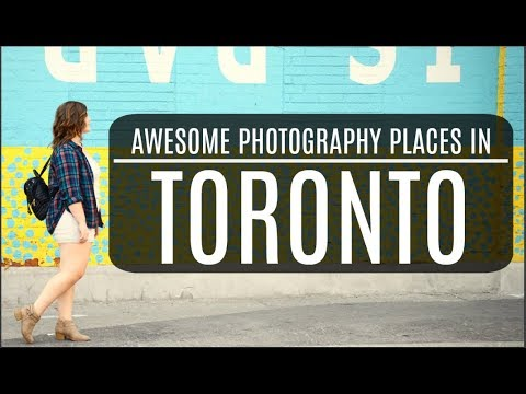 Toronto Photography Spots: BEST places for photography in TORONTO | Kyle + Allysin