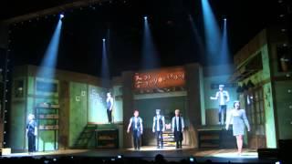Korean Original Musical 총각네 야채가게 curtain call in Tokyo, JAPA...