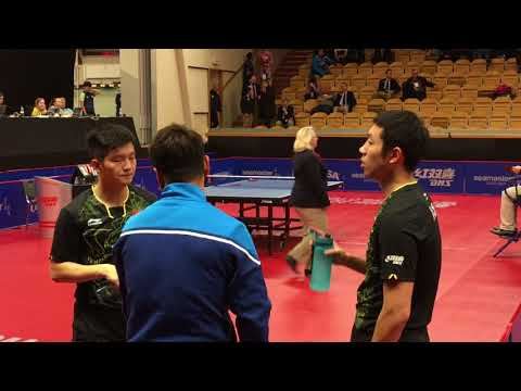 FAN ZD XU Xin - SKACHKOV Kirill PLATONOV Pavel @ SOC Stockholm MD 16/11/17 (private video 1080p)