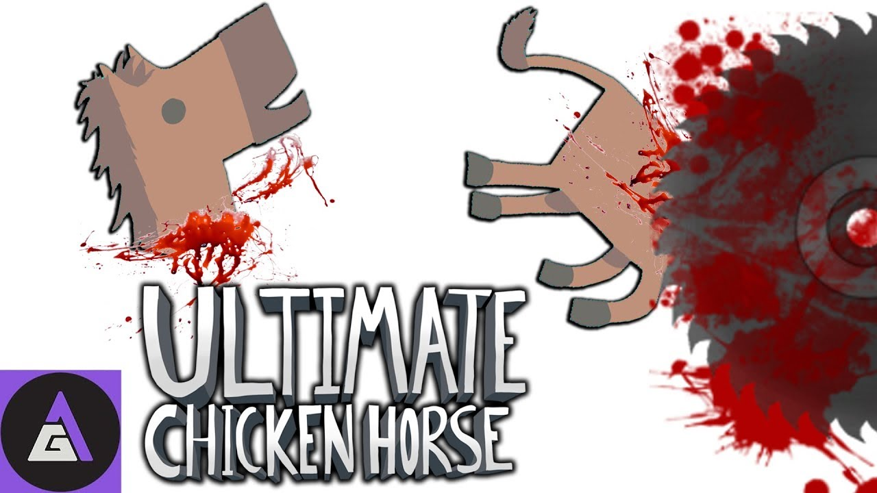 WE DON'T GIVE A CLUCK | Let's Play Ultimate Chicken Horse ...