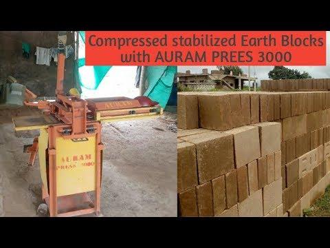 CSEB Production With AURAM PRESS 3000 Blocks Making Machine
