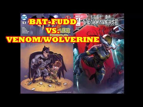 SJW MARVEL COMICS VS  DC COMICS :  BATMAN & ELMER FUDD VS  VENOM & WOLVERINE