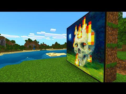 Secret behind Minecraft's eeriest painting..