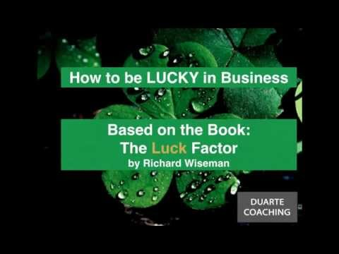 Amorvita Webinar Series: How to be Lucky in Business