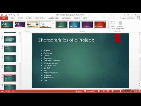PowerPoint Tutorial: How To Change Templates And Themes | Lynda.com