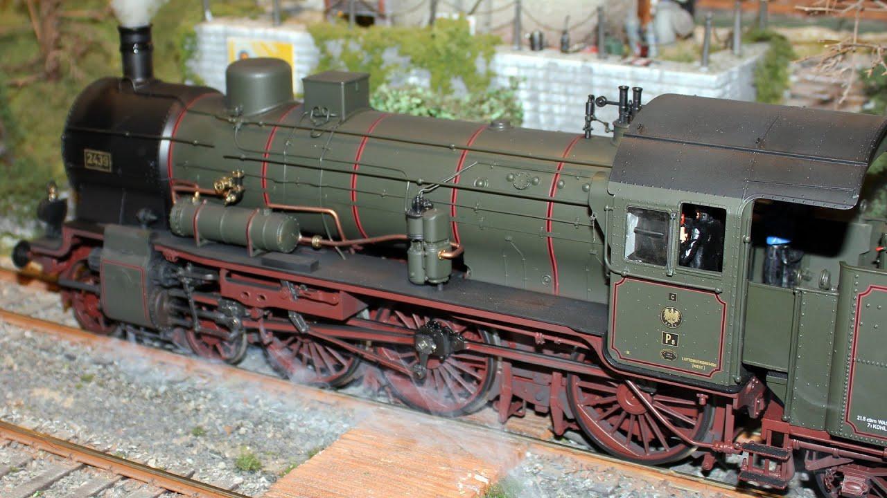 A Dream of Model Train Layout in 1 Scale ie  1 Gauge