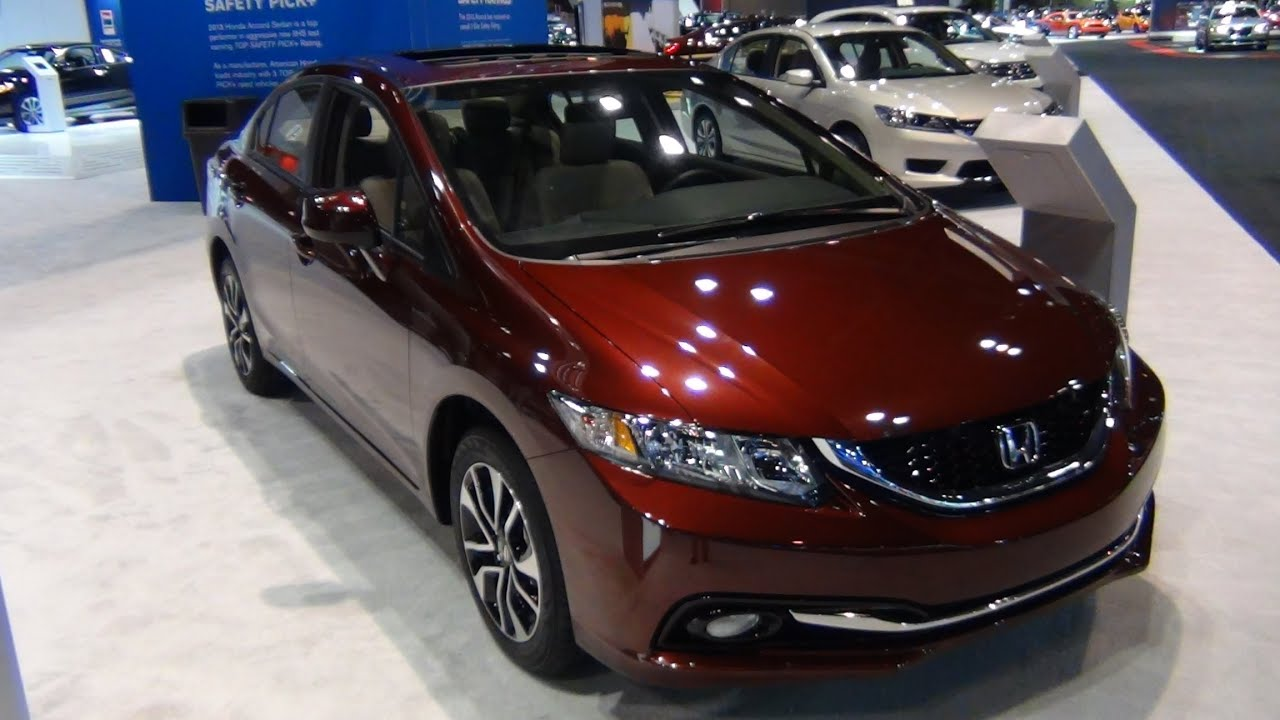 2013 Honda Civic EX L Quick Tour   YouTube