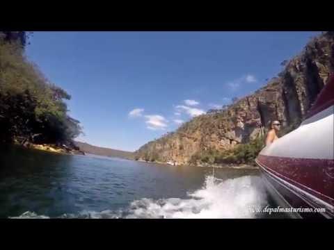Passeio de barco pelos Canyons - Capitólio/MG