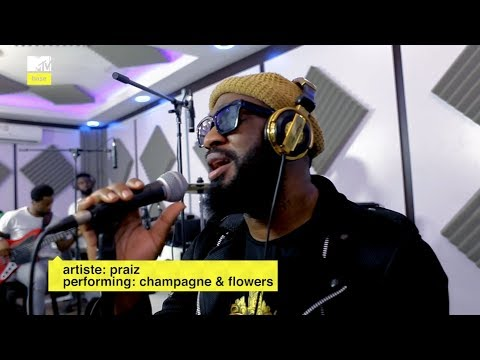 Praiz performs Champagne and showers live on MTVBase Lounge with Alternate Sounds