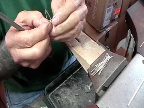 how to make a silver hair comb pt 1