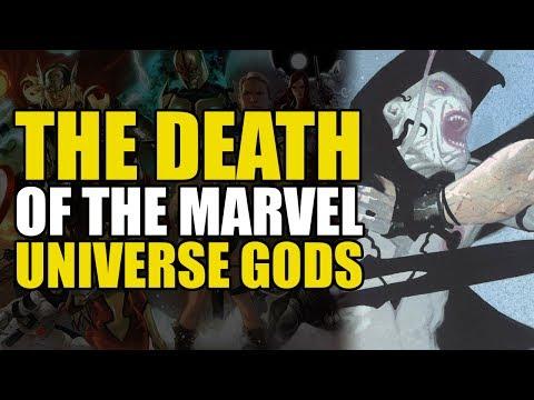 The Death of The Marvel Universe Gods (Thor God of Thunder Vol 1: God Butcher)
