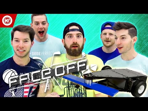 Thumbnail: DUDE PERFECT Battlebots Edition | FACEOFF