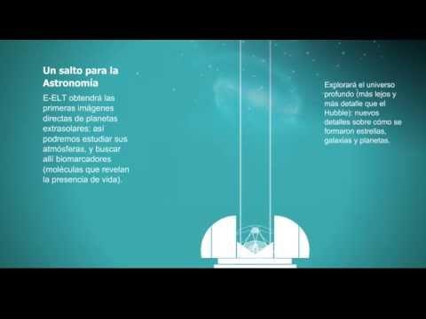 E-ELT: el telescopio óptico más grande del mundo [video infografía]