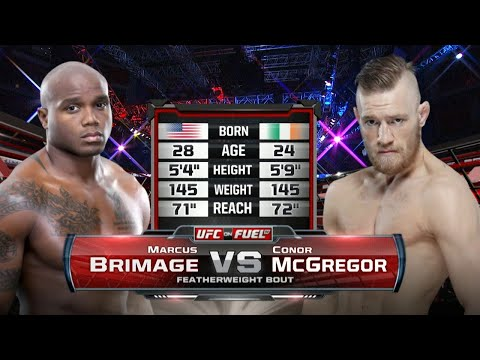 Conor McGregor vs Marcus Brimage /  Конор МакГрегор - Маркус Бримейдж