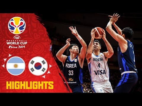 Argentina v Korea - Highlights - FIBA Basketball World Cup 2019