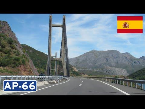 Spain: AP-66 León - Oviedo (Cantabrian Mountains)
